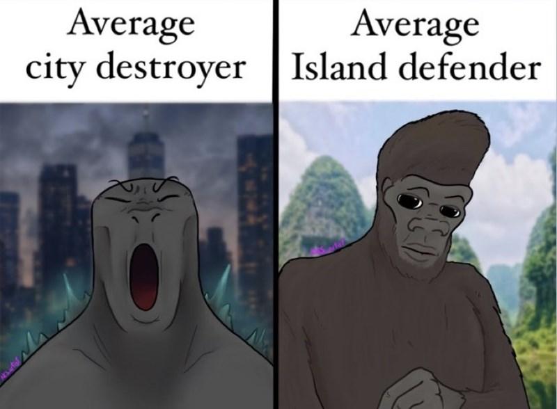 Vertebrate - Average city destroyer|Island defender Average wwh