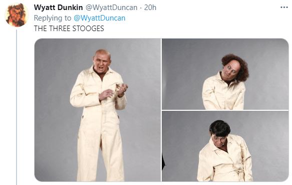 Shirt - Wyatt Dunkin @WyattDuncan · 20h Replying to @WyattDuncan THE THREE STOOGES