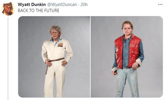 Outerwear - Wyatt Dunkin @WyattDuncan - 20h ... BACK TO THE FUTURE
