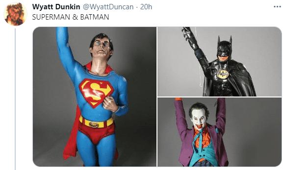 Outerwear - Wyatt Dunkin @WyattDuncan - 20h ... SUPERMAN & BATMAN