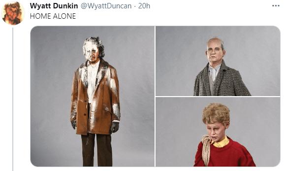 Outerwear - Wyatt Dunkin @WyattDuncan - 20h HOME ALONE