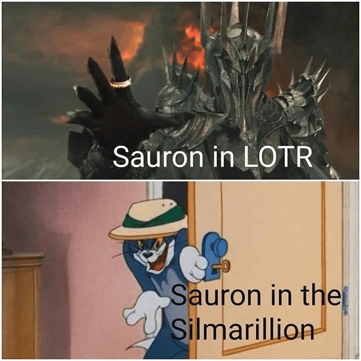 Font - Sauron in LOTR Sauron in the Silmarillion