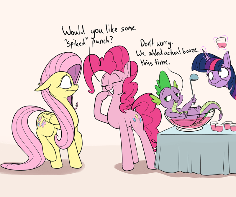 dragon spike twilight sparkle puns pinkie pie rocket-lawnchair fluttershy - 9590012928