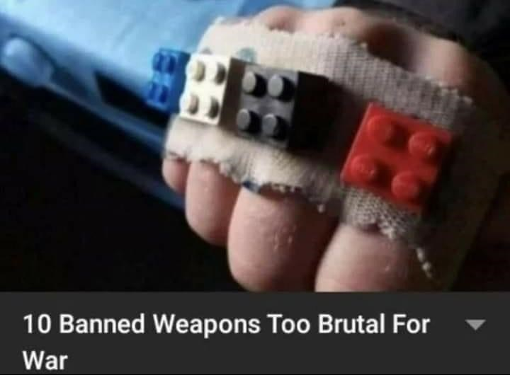Body jewelry - 10 Banned Weapons Too Brutal For War