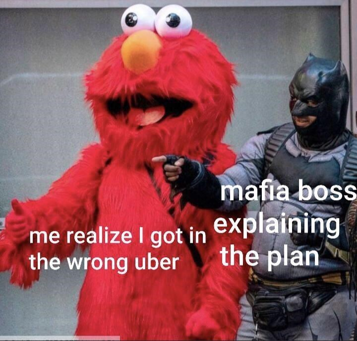 Outerwear - mafia boss me realize I got in the wrong uber explaining the plan