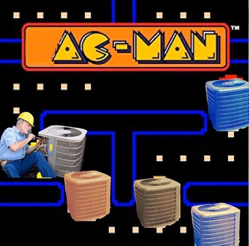 Blue - TM AC-MAN