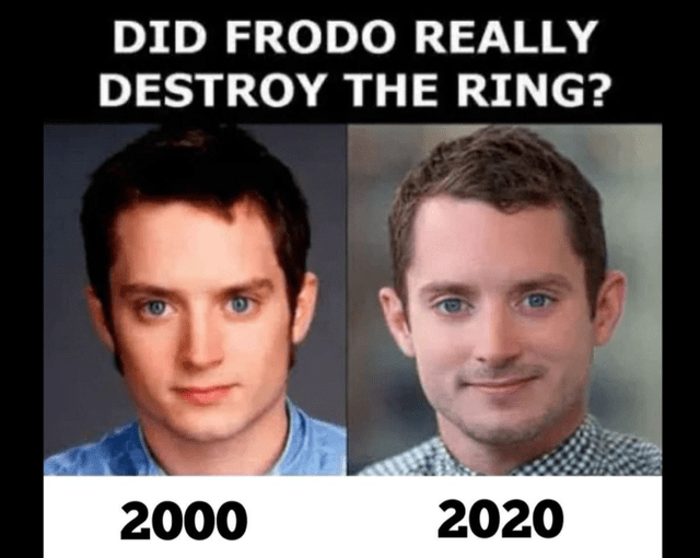 Forehead - DID FRODO REALLY DESTROY THE RING? 2000 2020