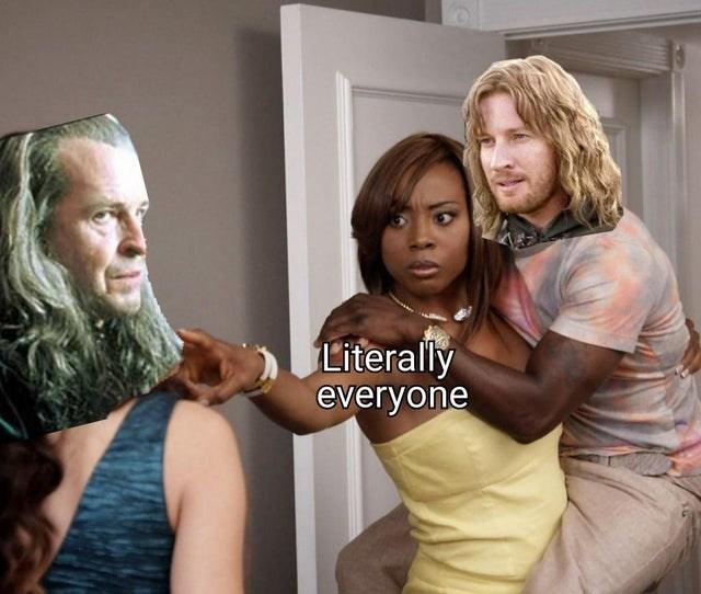 Hair - Literally everyone
