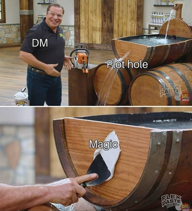 Smile - DM Plot hole PASTE Magic PASTE