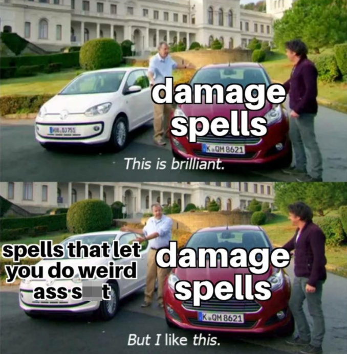Car - damage spells K-QM 8621 This is brilliant. spellsthat let damage you do weird ass's t spells K.OM 8621 But I like this.