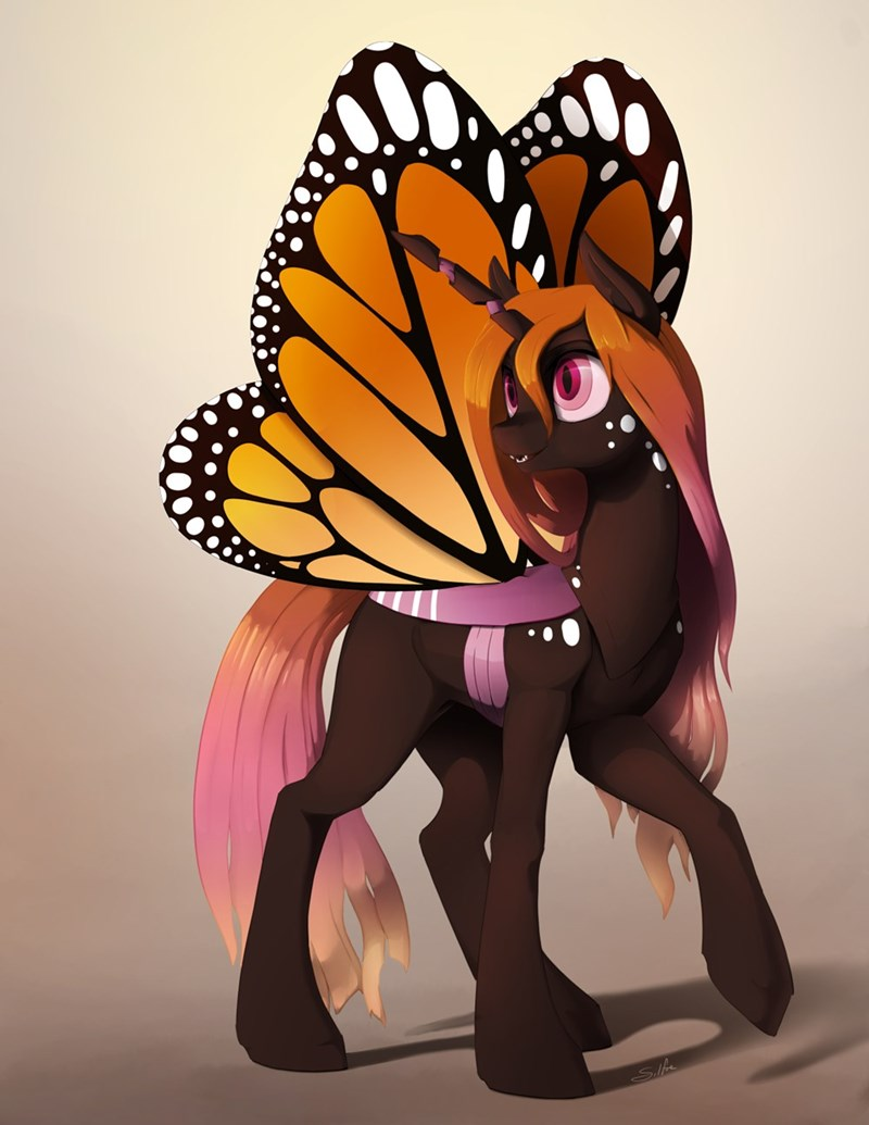 OC silfoe papillion changelings - 9591762432
