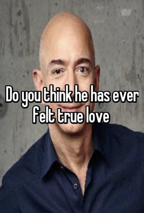 Forehead - Do you think he has ever Felt true love