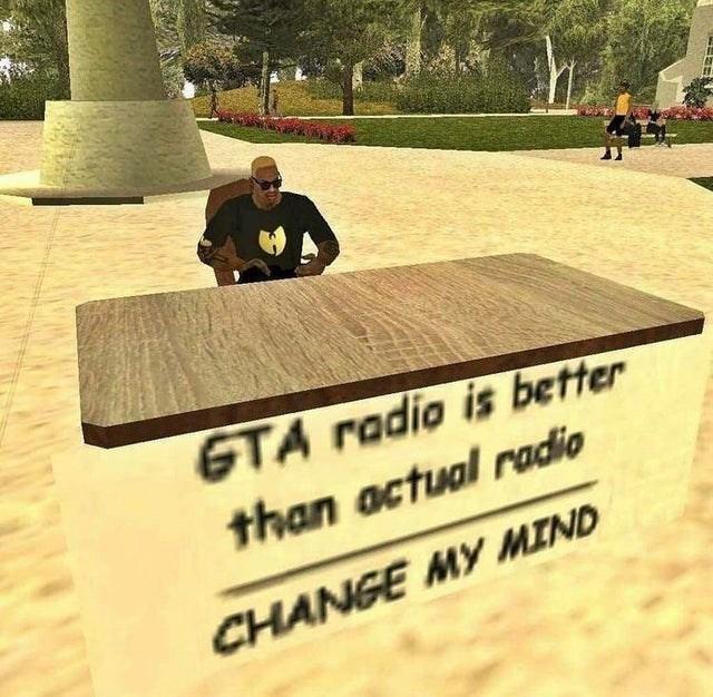 Plant - GTA radio is better than actual radio CHANGE MY MIND