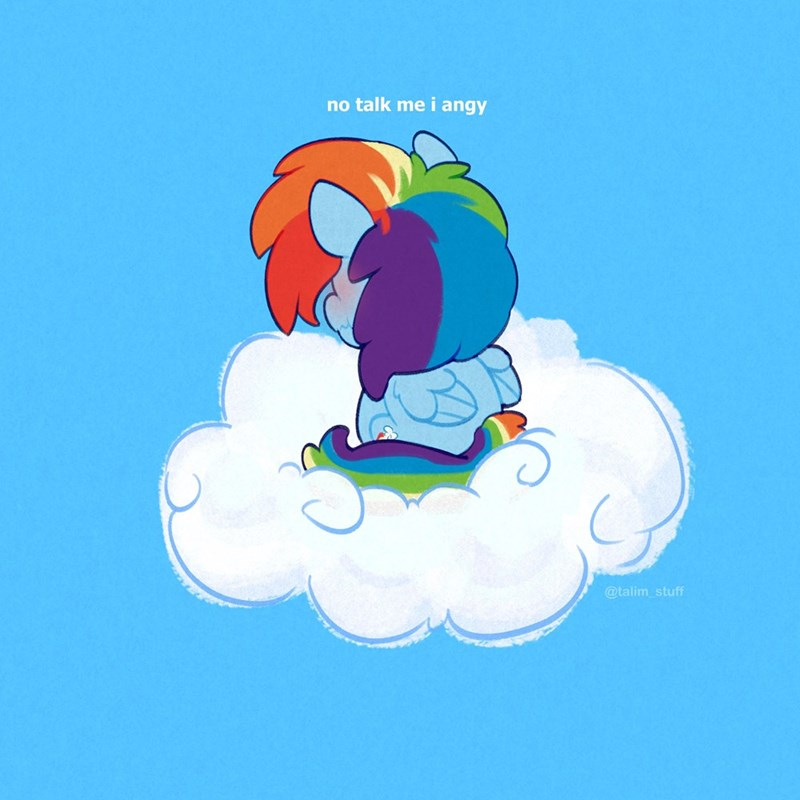 talimingi Memes ponify rainbow dash - 9592247552