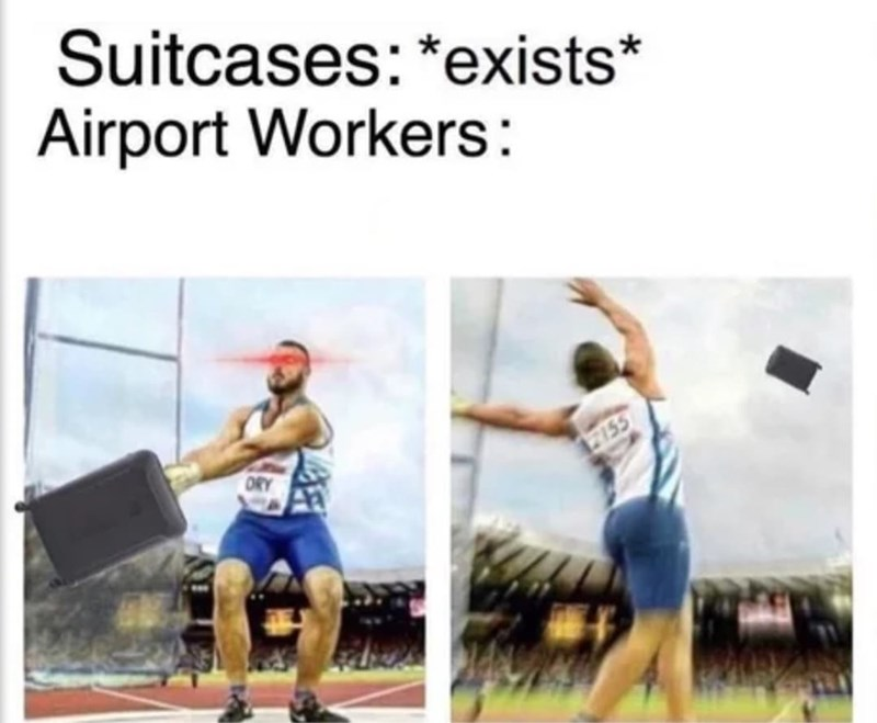Sports uniform - Suitcases: *exists* Airport Workers: ORY 7155