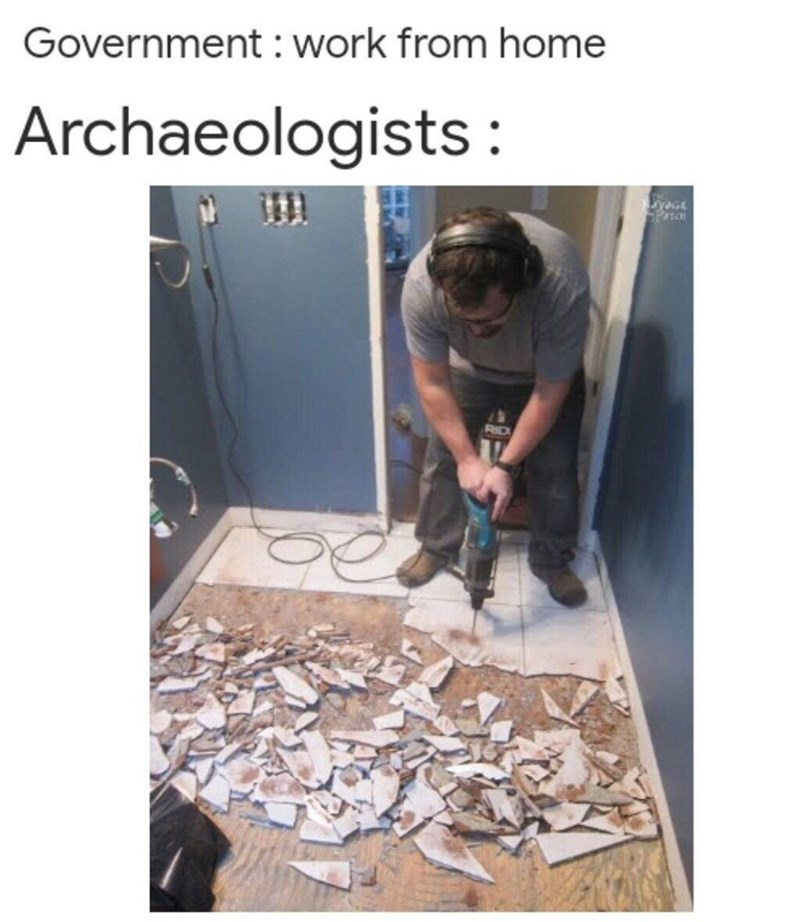 Wood - Government : work from home Archaeologists: 1DA