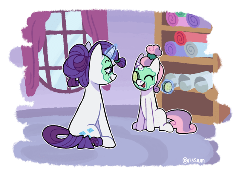 Sweetie Belle rarity risswm - 9594287104