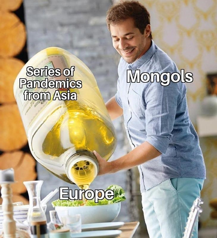 Smile - Series of Pandemics from Asia Mongols Europe