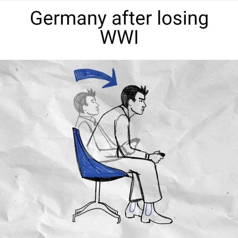 Hair - Germany after losing WI