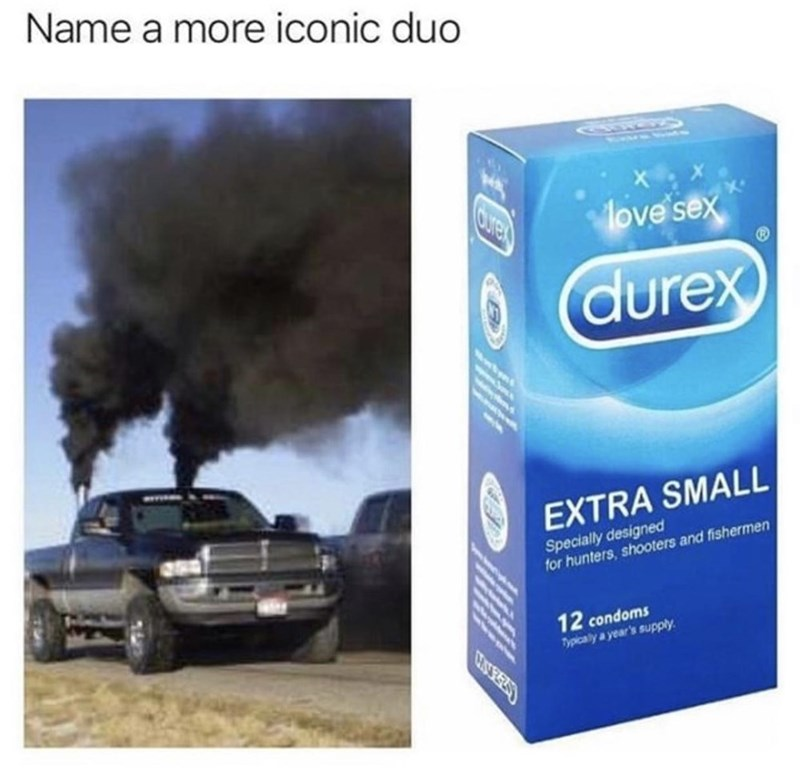 Automotive parking light - Name a more iconic duo Cre love sex O durex EXTRA SMALL Specially designed for hunters, shooters and fishermen 12 condoms Typicaly a year's supply