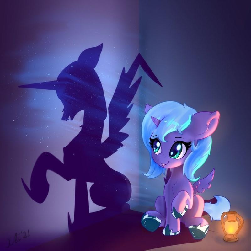 nightmare moon woona princess luna xbi - 9594896384