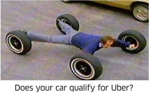 Tire - Does your car qualify for Uber?