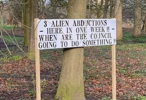 Plant - 3 ALIEN ABDUCTIONS HERE IN ONE WEEK !- WHEN ARE THE COUNCIL GOING TO DO SOMETHING 2