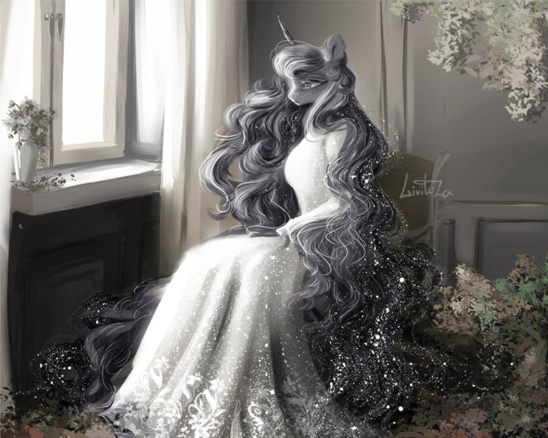 princess luna livitoza - 9595123712
