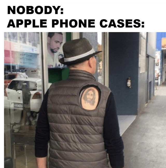 Outerwear - NOBODY: APPLE PHONE CASES: 121044