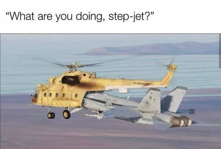 """Vehicle - """"What are you doing, step-jet?"""""""
