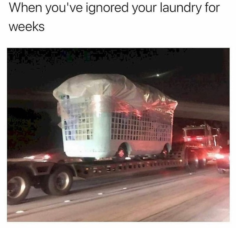 Automotive lighting - When you've ignored your laundry for weeks