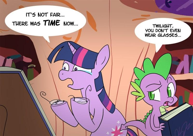 twilight sparkle twilight zone spike egophiliac - 9595313408