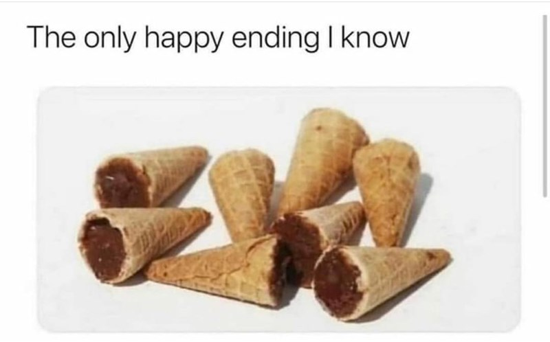 Food - The only happy ending I know