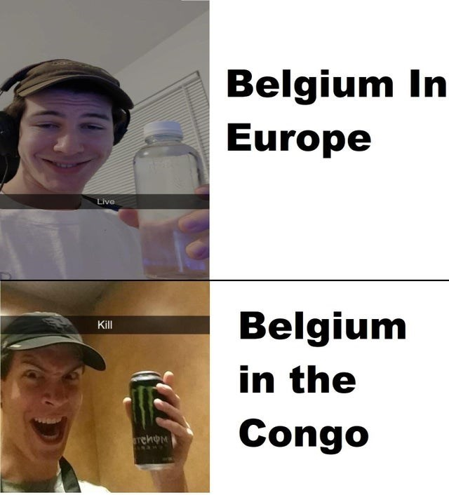 Gesture - Belgium In Europe Live Belgium in the Kill Congo rehoM