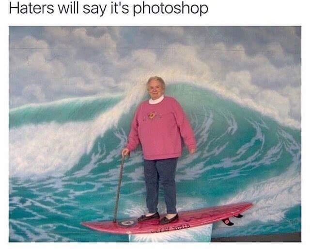 Water - Haters will say it's photoshop