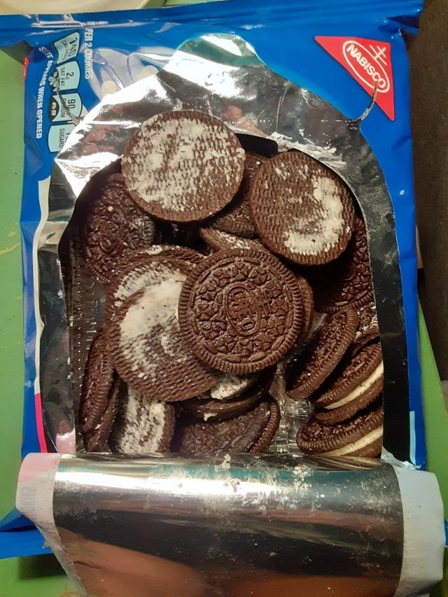 Food - NABISCO PER 2 CUOKIES 140 CL 2, SAT FAT 90 SIT va VWEN OPENED SUGARS