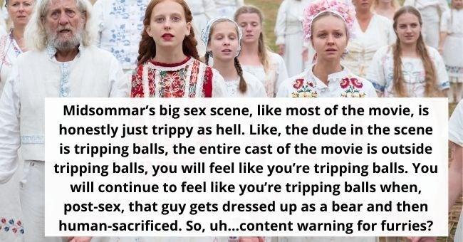 Midsommar Sex Scene