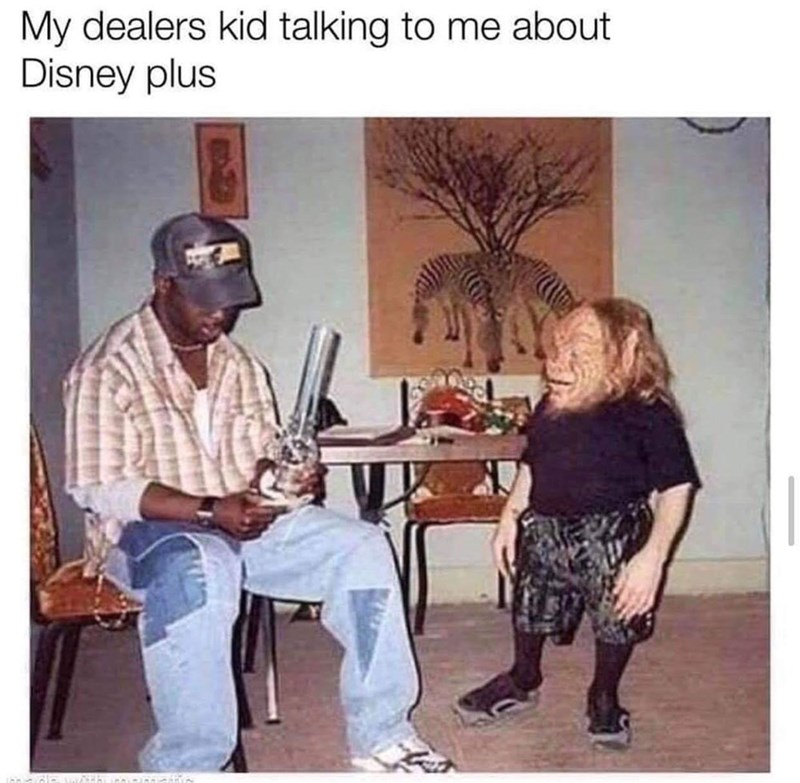 Photograph - My dealers kid talking to me about Disney plus