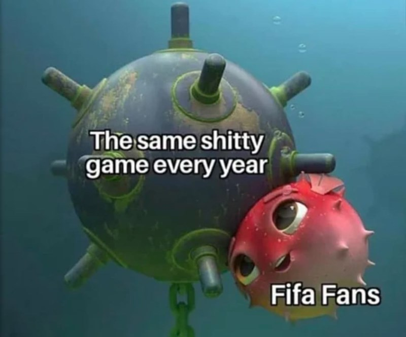 Water - The same shitty game every year Fifa Fans