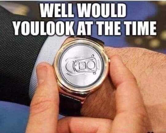 Hand - WELL WOULD YOULOOK AT THE TIME