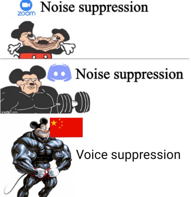 Gesture - Noise suppression Zoom Noise suppression molidcom Voice suppression