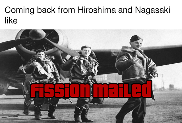 Gesture - Coming back from Hiroshima and Nagasaki like FISSIonmaiLed