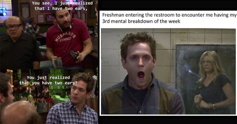 Funny memes and moments from 'It's Always Sunny In Philadelphia'