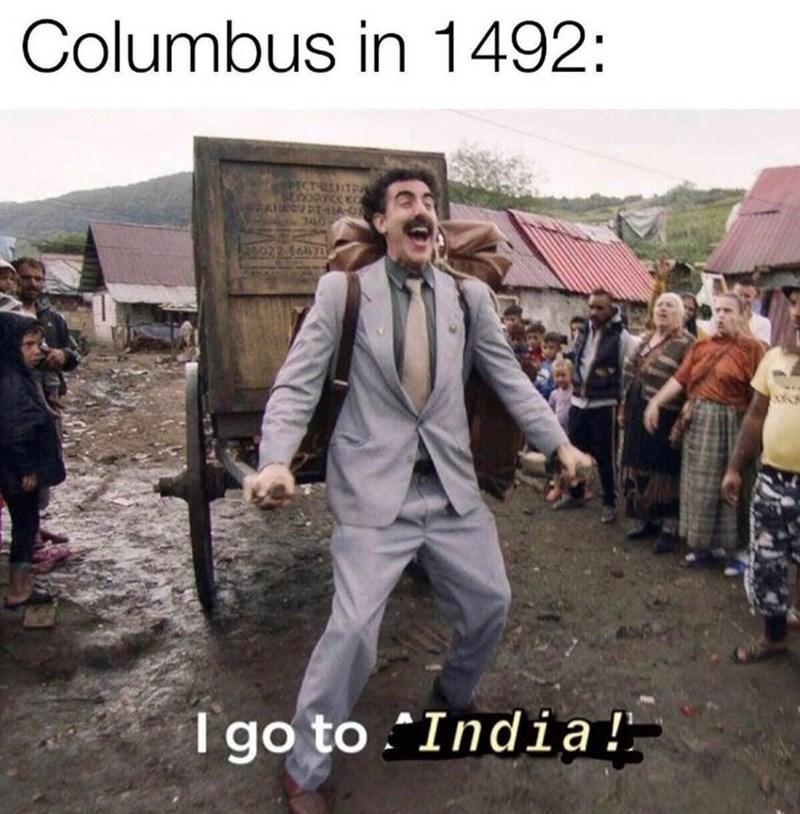 Trousers - Columbus in 1492: PICTULITPA I go to .India!
