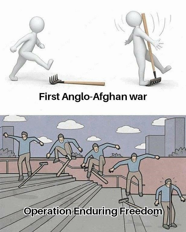 Vertebrate - First Anglo-Afghan war Operation Enduring Freedom
