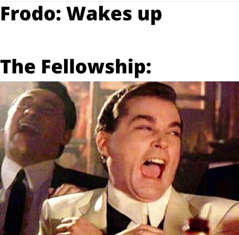Forehead - Frodo: Wakes up The Fellowship: