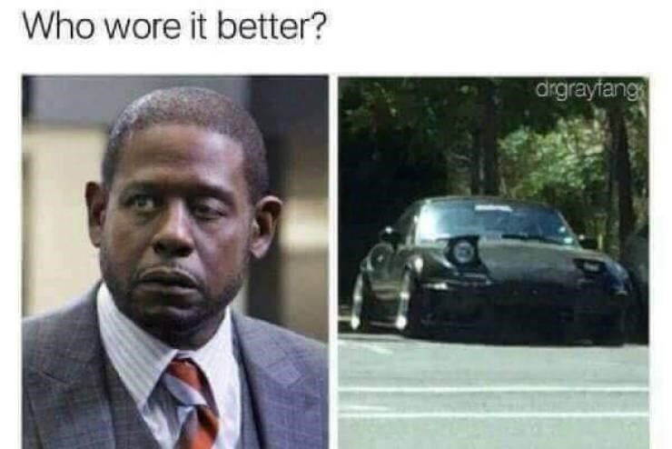 Automotive parking light - Who wore it better? drgrayfang