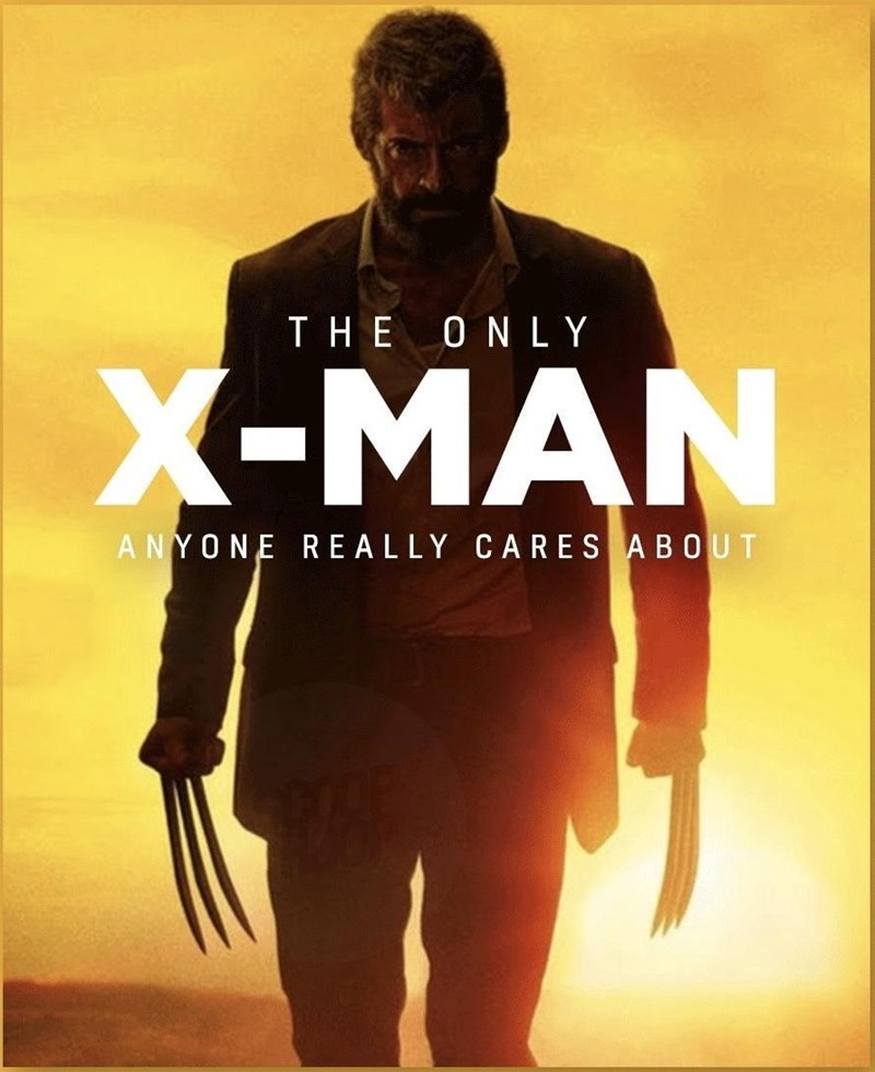 Sleeve - THE ONLY X-MAN ANYONE REALLY CARES ABOUT
