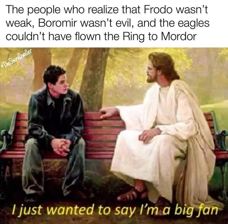 Sleeve - The people who realize that Frodo wasn't weak, Boromir wasn't evil, and the eagles couldn't have flown the Ring to Mordor The ShireDweller I just wanted to say I'm a big fan