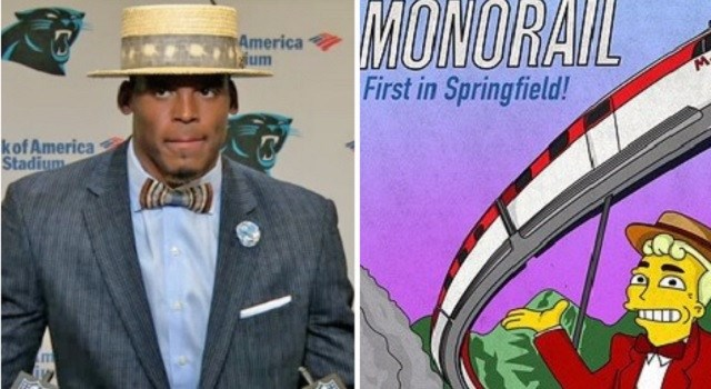 fashion twitter FAIL list cam newton roast